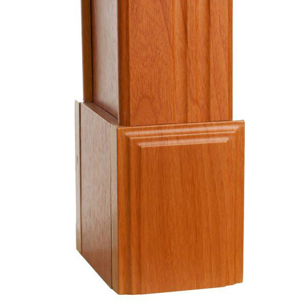 Плинт (служит для увеличения высоты арки или как декоративный элемент) Высота 150 мм.