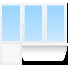 Балконный блок Gut 58mm